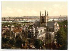2 Victorianas Views de Rochester castillo & Catedral Fotos Antiguas Imágenes