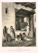 """Photogravure by Goupil - """"FOR SALE"""" From a painting by L.J. Gerome - 1903"""