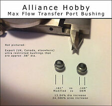 25% Wider Max Flow Transfer Port Bushing Crosman 2240 2250 2260 1322 1377 2289