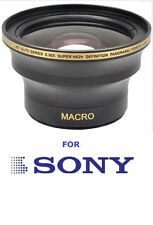 55MM HD 30X FISHEYE MACRO LENS FOR SONY ALPHA A58 SLT-A37 A57 A65 A200 A230 A380