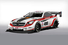 CARLSSON MERCEDES BENZ SLK RACE CAR POSTER PRINT 24x36 HI RES