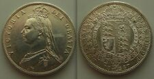 Nice Collectable Silver 1887 - Queen Victoria - Jubilee Half Crown Coin. EF +