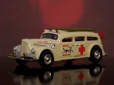 "1942 PACKARD HENNEY SURF ROD WAGON ""MEAT WAGON"" AMBULANCE 1/64 SCALE DIECAST"