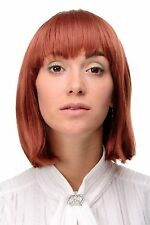 Sexy Wig Page longer Bob Fit Red Copper red smooth Hair 9 13/16in 7803-130