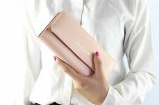Fashion Lady Women Clutch Long Purse Soft Leather Wallet Card Holder Handbag US