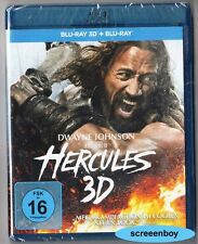 """HERCULES"" - Dwayne Johnson - Fantasy Action - BLU RAY 3D + 2D - Extended Cut"