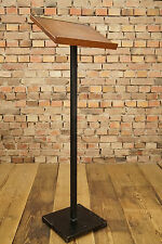 Mid Century Design Lesepult Rednerpult Pult Stehpult -  60er Vintage Holz 60s
