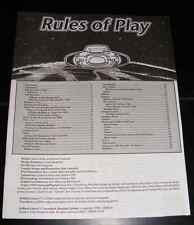 Traveller The New Era Roleplaying Game Rules of Play Booklet