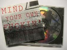 MIND YOUR OWN FUCKIN' BUSINESS VOLUME 1 - TEENANGEL RADICAL RECORDS SAMPLER - CD