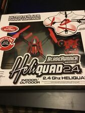 BladeRunner / HeliQuad /  2.4 - RC Helicopter Quadcopter in One / Gyro Hovers