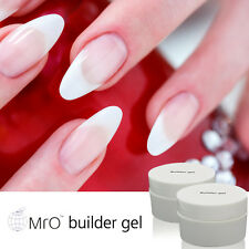 MRO UV LED Gel Clear Hard Builder Gel Nail Art 0.5fl.oze Polish Varnish Salon