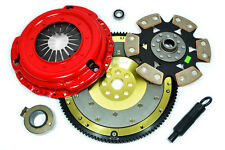 KUPP STAGE 4 RACE CLUTCH KIT+ALUMINUM FLYWHEEL for RSX TYPE-S CIVIC Si 2.0L K20