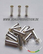 Scale Production 1/24 Metal Air Intake Trumpets / Exhaust Pipes 3.3mm SP24071