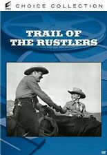 Trail of the Rustlers (DVD MOVIE)  BRAND NEW