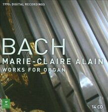 J.S. Bach: Complete Works for Organ [Digital Recording] (CD, May-2011, 14...
