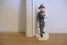~SEBASTIAN MINIATURE FIGURINE~THE VOLUNTEER FIREMAN~P. BASTON~COPR.1982~