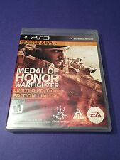 Medal of Honor Warfighter *Limited Edition* PS3 NEW