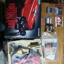 CONSOLE VIRTUAL BOY NINTENDO VUE-S-RA(JPN) BOXED RARE IMPORT NTSC JAPAN