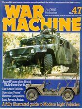 WAR MACHINE 47 WORLD ARMY MODERN VEHICLES JEEP TRUCKS ROVER VW FIAT PEUGEOT GAZ