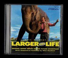 Miles Goodman / Bill Murray  LARGER THAN LIFE  CD SOUNDTRACK MILAN