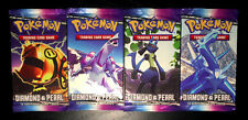 Pokemon Diamond & Pearl Booster Pack Trading Cards LOT of 4! Go NEW and SEALED!