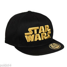 Star Wars casquette New Era Premium Gold Logo 100% coton hip hop cap 13780