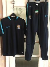 Nike Manchester City 2015-2016 Flash Training Shirt And Pans Size:XL BNWT