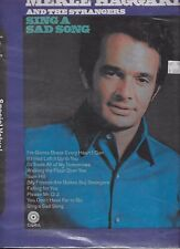 MERLE HAGGARD and THE STRANGERS 2 LP Set / Sing a Sad Song / High On A Hilltop