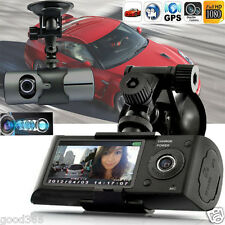 Dual Lens 1080P HD GPS Night Vision Car DVR Camera Recorder Dash Cam G-Sensor US