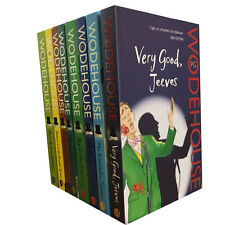 A Jeeves and Wooster Series Collection PG Wodehouse 8 Books Set Pack Bundle NEW