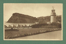 C1930'S POSTCARD TEIGNMOUTH, THE NESS - LIGHTHOUSE