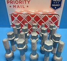 Set of 20 Wheel Stud Bolt F & R Replace Mercedes OEM# 0009904807 Made in Germany