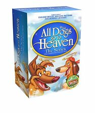 All Dogs Go To Heaven Complete Series DVD Set Bonus Movie An All Dogs Christmas