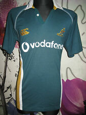 Australia RUGBY SHIRT 2001 2003 Wallabies Canterbury Training Jersey Union Large