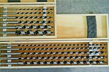 6 Tlg Schlangenbohrer Satz 10-20mm Holzbohrer Balkenbohrer 230 mm