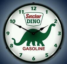 New old style Sinclair Gasoline with Dino LIGHT UP advertising clock