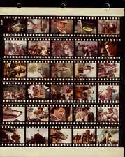 """Indiana Jones And The Temple Of Doom 8x10"""" Color Contact Sheet Photo #J8371"""