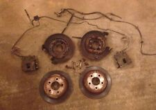 JEEP Dana 35 44 Rear Axle Drum To Disc Brake Conversion Kit Wrangler Cherokee