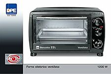 Forno Elettrico Bencotto 22 LT ventilato termostato timer 3 tipi di cottura DPE
