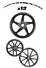 XMAX-X-MAX-XMAX STICKER RUEDA-vinilo rueda-pegatinas rueda YAMAHA