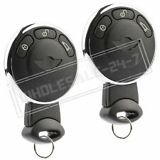 2 Replacement For 2011 2012 Mini Cooper Countryman Key Fob Remote