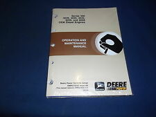JOHN DEERE SERIES 300 3029 4039 4045 6059 ENGINE OPERATION & MAINTENANCE MANUAL
