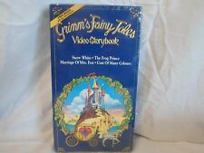 Grimm's Fairy Tales Video Storybook (Snow White, The Frog Prince, ect.)