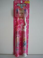 BARBIE REACH KIDS' TOOTHBRUSH FOR BARBIE LOVERS ( WELCOME ADULTS ! ) CUTE !  L3