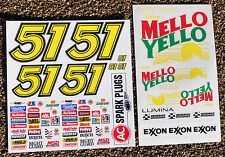 RC Nascar 'Days Of Thunder' Decals Stickers Tamiya Xray TC5 S18 Serpent Kyosho