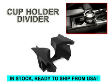 BLACK CENTER CONSOLE CUP HOLDER DIVIDER INSERT MERCEDES W204 C207 C E CLASS