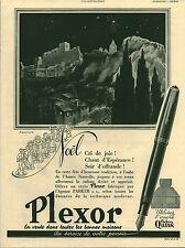 """Publicité Ancienne """" Stylo Plume PLEXOR 1941 ( P 35 ) S. L. G."""
