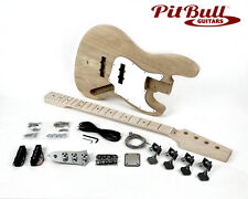 Pit Bull Guitars JBA-4M Electric Bass Guitar Kit (Ash Body)