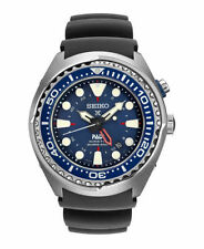 Seiko SUN065 X Rubber Strap Prospex Kinetic GMT PADI Diver's Men's Watch