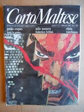 CORTO MALTESE n°2 1990 con raro inserto Watchmen  [G455]